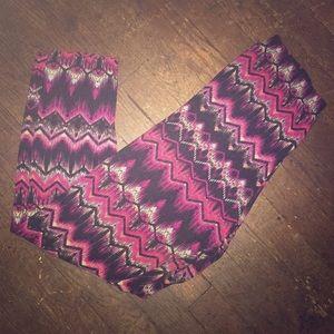 Pink rue21 leggings